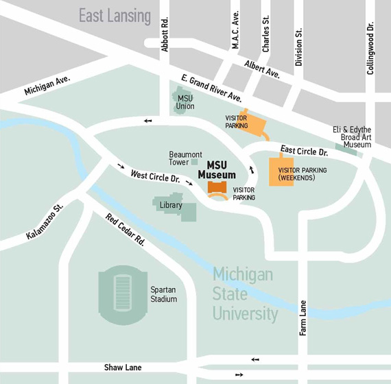 Image of MSU map