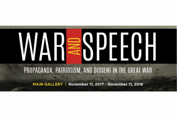 Image of War Speech