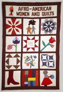 Photo of the quilt Afro American women and quilts