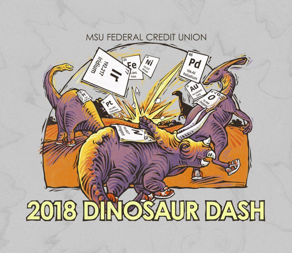 2018 Dinosaur Dash logo