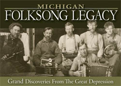 Photo of Michigan Folksong Legacy title banner