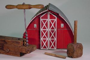 Image of Michigan Barns: Timber-framed, Plank and Polebarn Exhibit