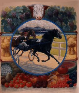 "Image of Catalog cover portraying competition for ""the best"" at the fair, ca. 1904."