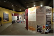 Image of Dear Mr. Mandela exhibit on display