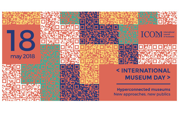 Logo for the 2018 International Museum Day