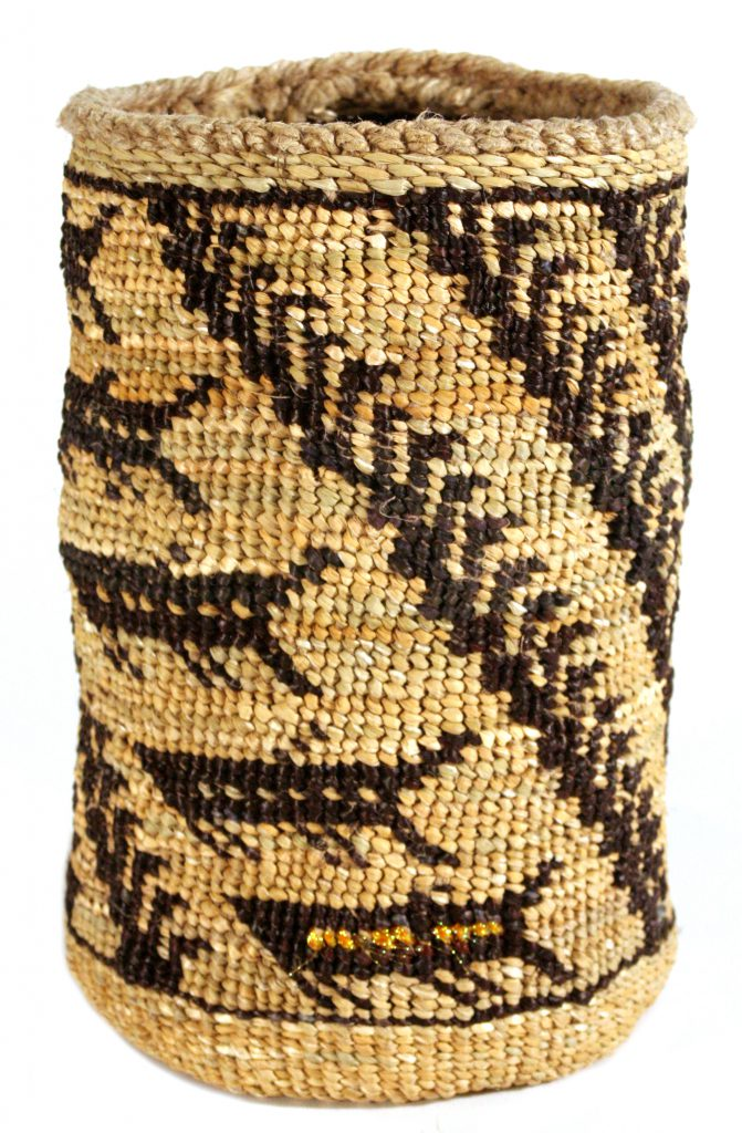 basket woven by Pat Courtney Gold