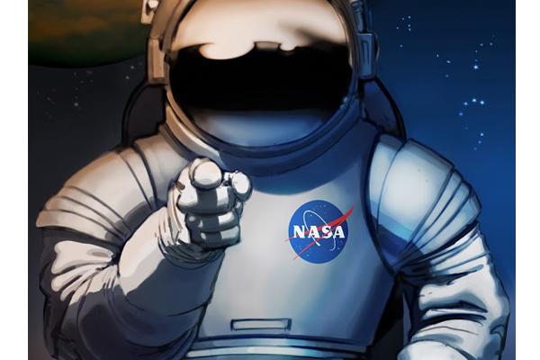 Photo of NASA Astronaut