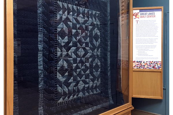 Photo of Yoruba quilt
