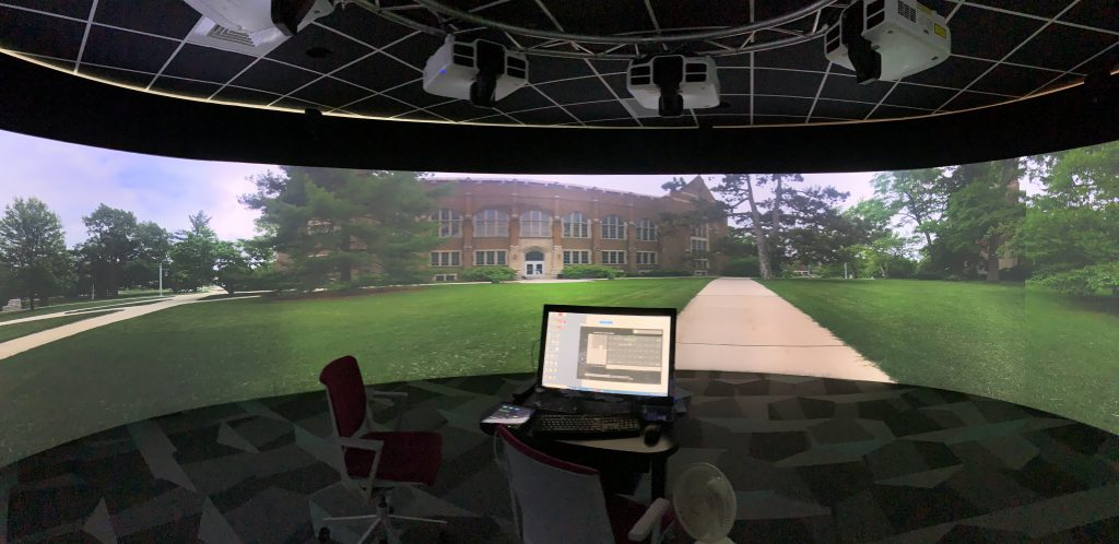 360 Degree Panoramic Room In the Library's Digital Scholarship Lab