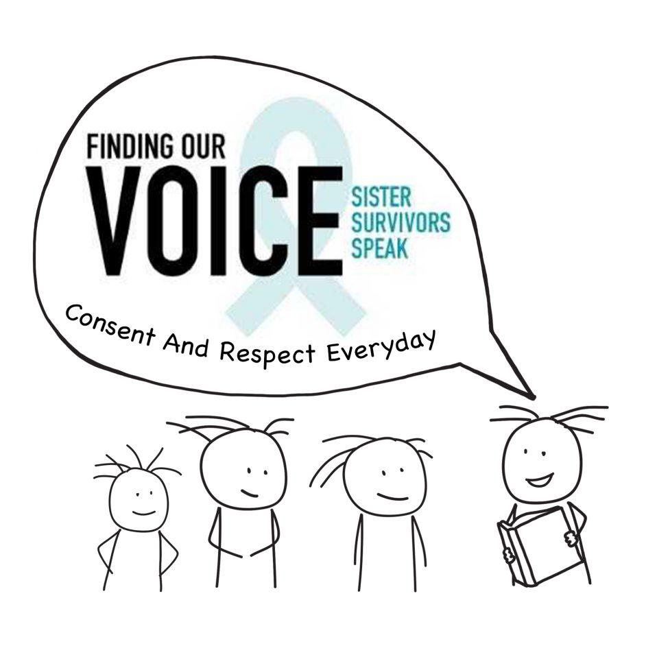 Finding Our Voice: Sister Survivors Speak Consent and Respect Everyday
