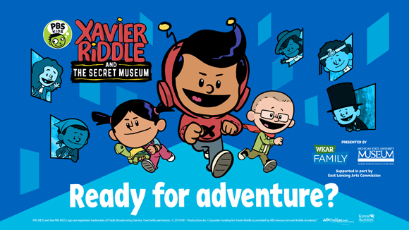 Xavier Riddle Ready For Adventure