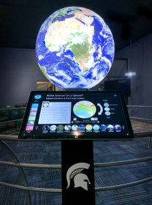 "MSU Museum's ""Science On a Sphere Gallery"""
