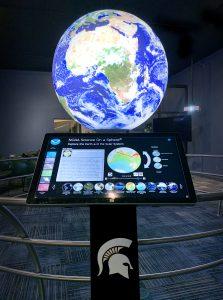 "MSU Museum's ""Science On a Sphere Gallery"""