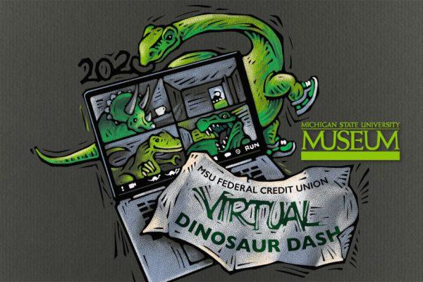 MSU Federal Credit Union Virtual Dinosaur Dash