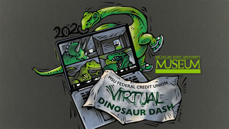 MSU Federal Credit Union Virtual Dinosaur Dash