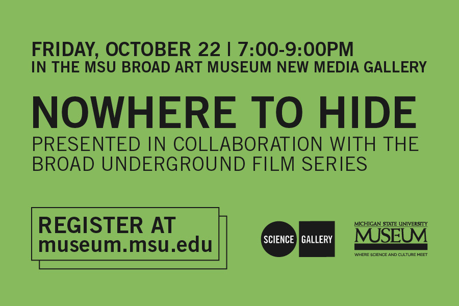 Nowhere to Hide Presented in collaboration with the Broad Underground Film Series